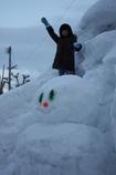 雪だるま だ~い!