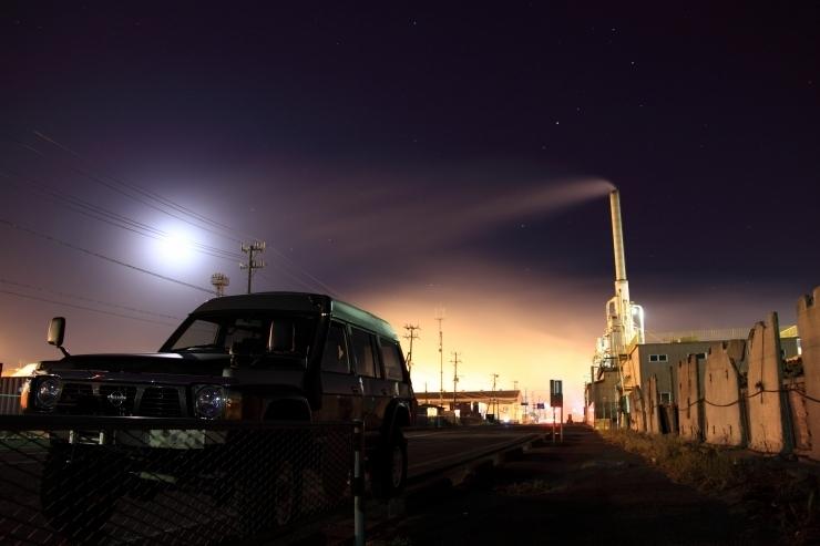 Night view in ISHINOMAKI CITY