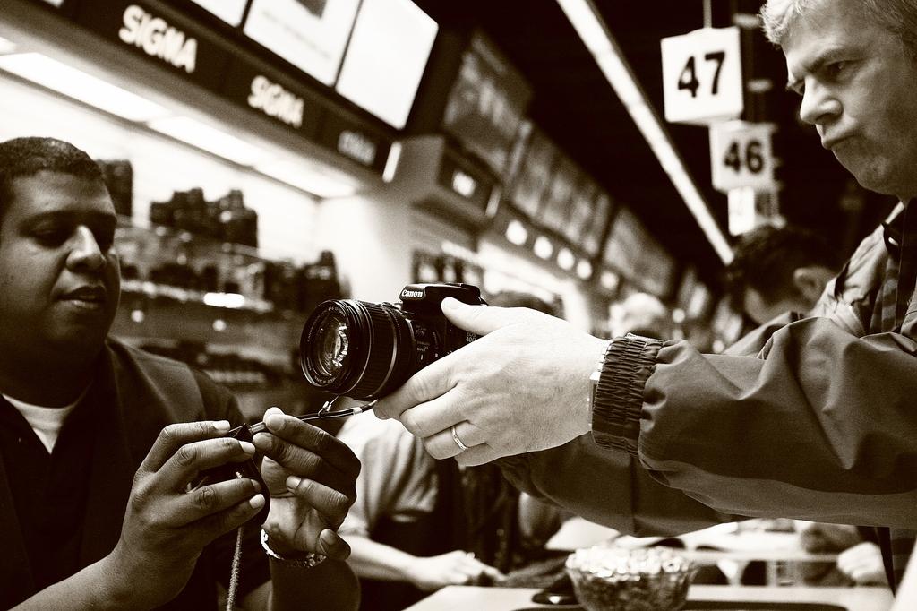 このカメラくれ