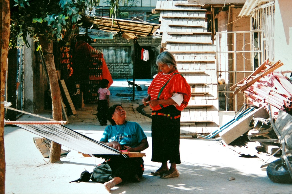 メキシコ機織り