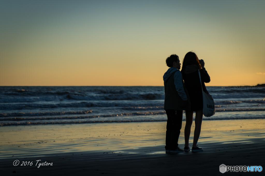 夕日を撮る2