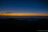 燕岳からの雲海マジックアワー