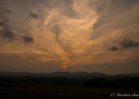 SONY ILCE-7RM2で撮影した(不思議な夕雲)の写真(画像)