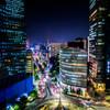 名古屋大通りの夜景