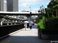 堂島川沿い02