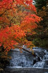 恵庭渓谷・ラルマナイの滝
