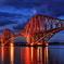 The Forth Bridge with Scot Rail
