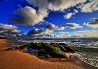 CANON Canon EOS 6Dで撮影した(冬の浜辺)の写真(画像)