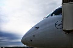 Lufthansa #早朝Boarding