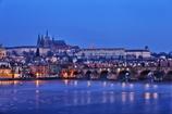 黎明のプラハ城