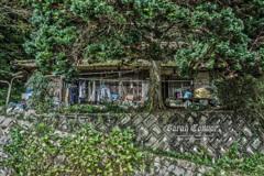 田舎の一軒家の絵
