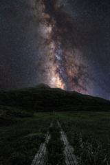 星空への道