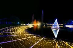 水と光のコラボレーション