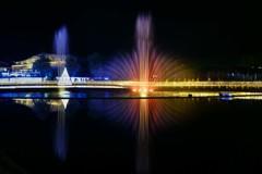 水と光のコラボレーションⅡ