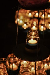 Soothing candle light