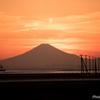 江川海岸からの夕日2
