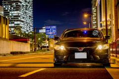 FD2 Honda CIVIC Type R at 中之島通