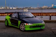 Honda BEAT mistbahn at 築港 | 02