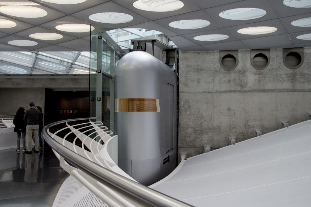 [Mercedes 214] メルセデス博物館 館内風景