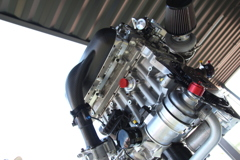 [WTCC 144]ボルボS60・ポールスターTC1エンジン
