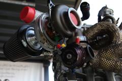 [WTCC 141]ボルボS60・ポールスターTC1エンジン