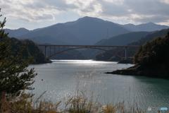 宮ヶ瀬湖 11月2日18