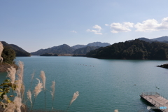 宮ヶ瀬湖 11月2日9