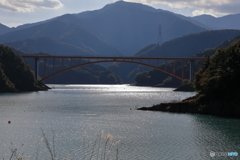宮ヶ瀬湖 11月2日17