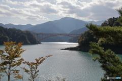 宮ヶ瀬湖 11月2日15