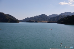 宮ヶ瀬湖 11月2日6