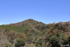 宮ヶ瀬湖から望む山