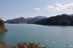 宮ヶ瀬湖 11月2日14