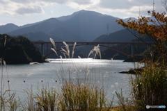 宮ヶ瀬湖 11月2日19