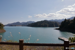 宮ヶ瀬湖 11月2日12