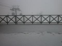 5月の降雪