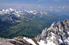 チロルの山々