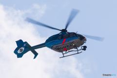 北海道警察ヘリコプター