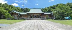 大分護国神社のパノラマ