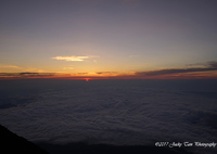 SONY ILCE-7で撮影した(日が昇る@富士山の頂上)の写真(画像)