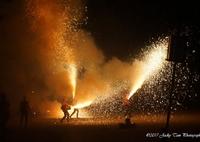SONY ILCE-7で撮影した(手筒花火@富士開山祭 I)の写真(画像)