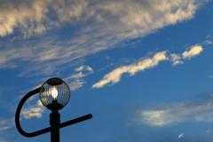 街灯の灯る頃