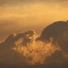 夕方の雲 2