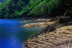 静寂のダム湖畔Ⅱ