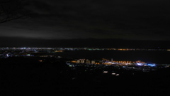 東三河沿岸の夜景