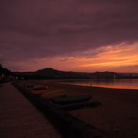 OLYMPUS E-M10で撮影した(唐津湾の夕暮れ2)の写真(画像)