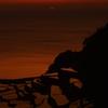 浜野浦の夕日⑦