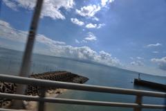 車窓からの絶景