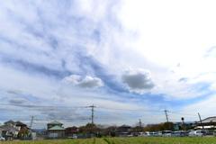 柔らかい雲