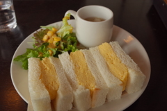 カヤバ珈琲のタマゴサンド