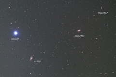 Galaxy around Ursa Major γ